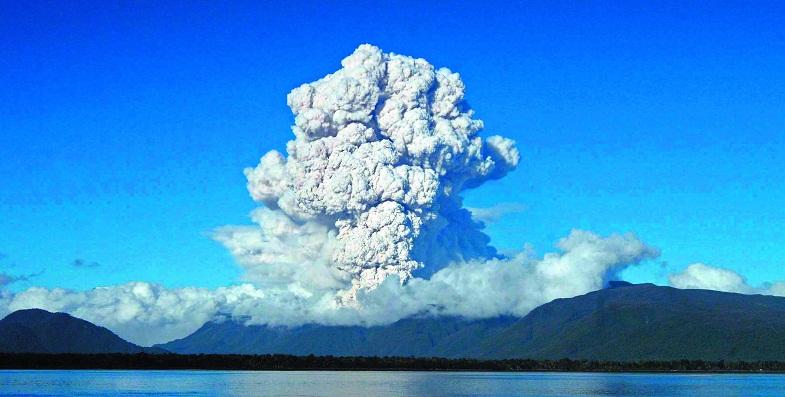 Извержение Чайтен в 2008 году