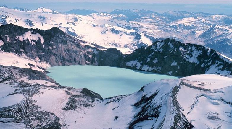 Кальдера вулкана Катмай
