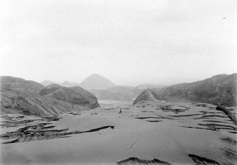 Лахары после извержения Келуда в 1919 году