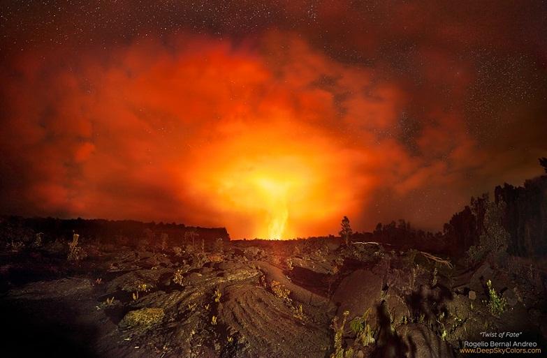 Извержение Килауэа, январь 2016 года