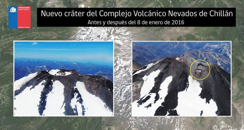 Невадос-де-Чильян новый кратер