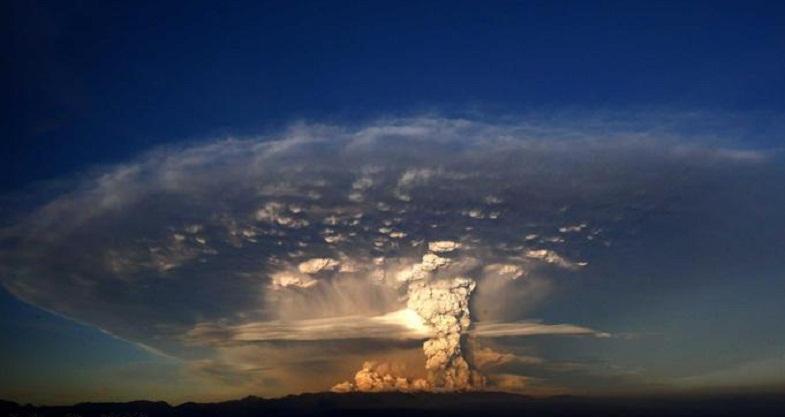 Пуеуэ извержение
