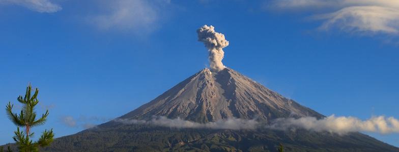 Семеру вулкан