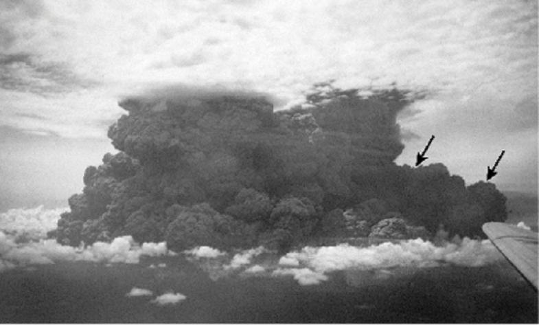 Ламингтон извержение