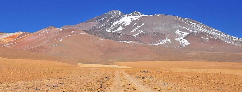 Льюльяйльяко вулкан