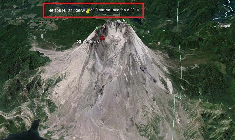 Сент-Хеленс землетрясение