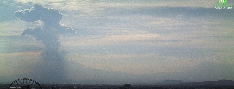 Попокатепетль вулкан 29 марта