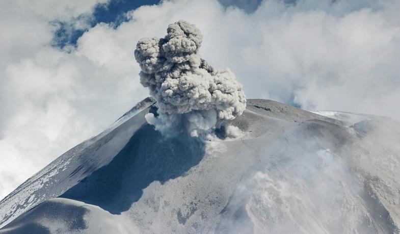 Сангай вулкан