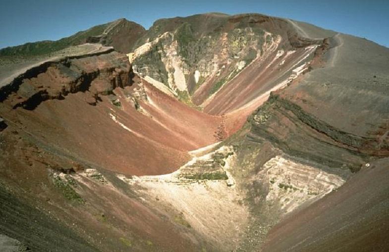Трещина на вулкане Таравера