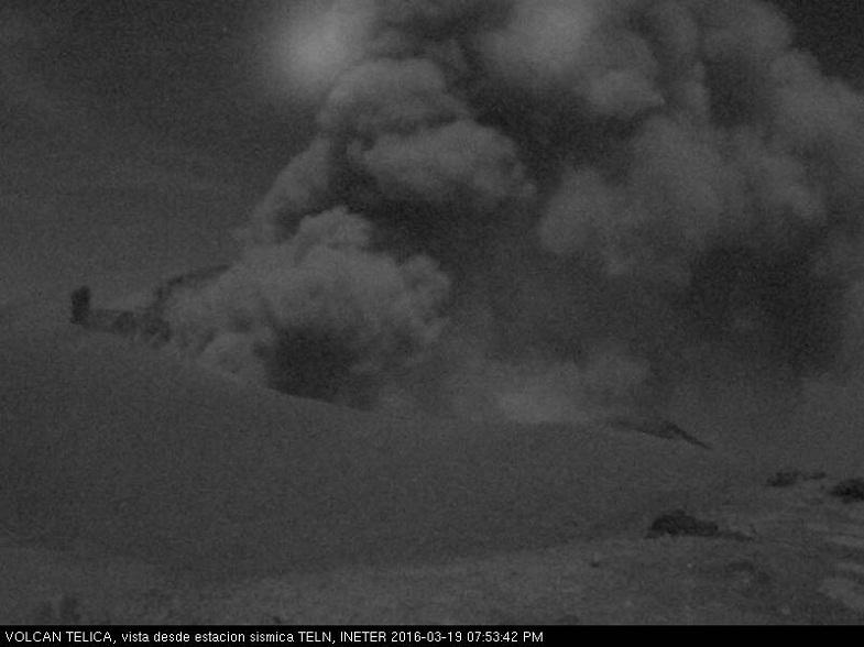 Телика вулкан 19 марта