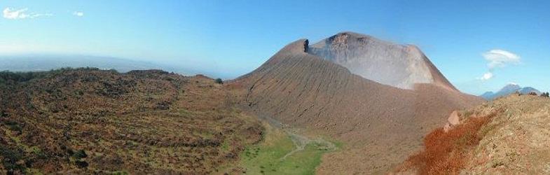 Телика вулкан никарагуа