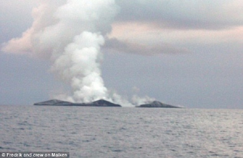 остров вулкан