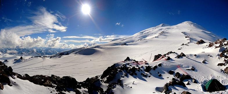 Эльбрус склоны