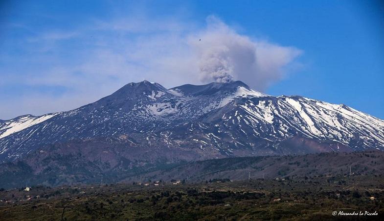 Этна 31 марта