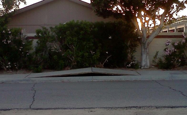Калифорния поднятие тротуара