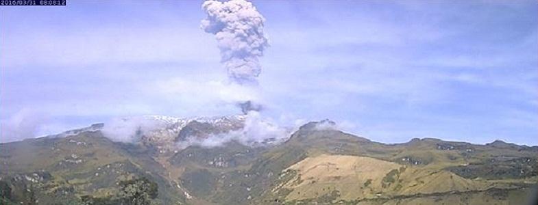 Невадо-дель-Руис взрыв