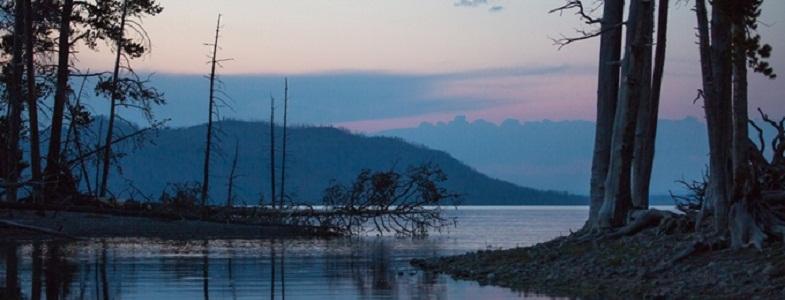 Озеро Йеллоустоуна