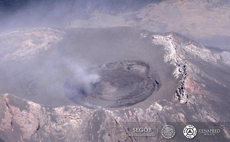 Попокатепетль кратер