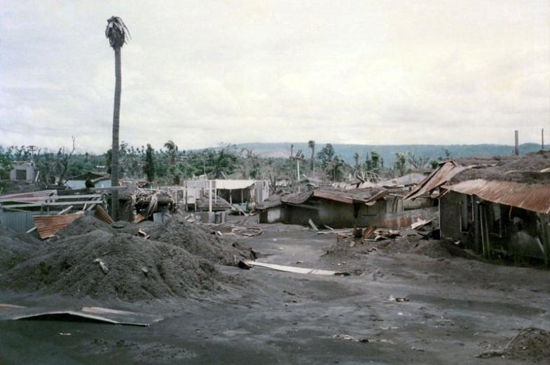 Рабаул разрушения