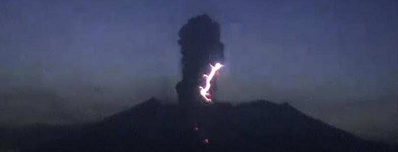 Сакурадзима вулкан 8 апреля