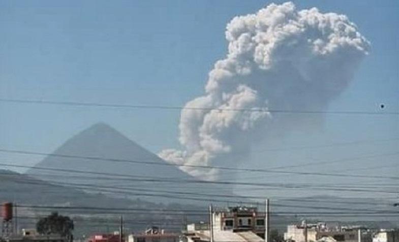 Сантьягуито вулкан 2 апреля