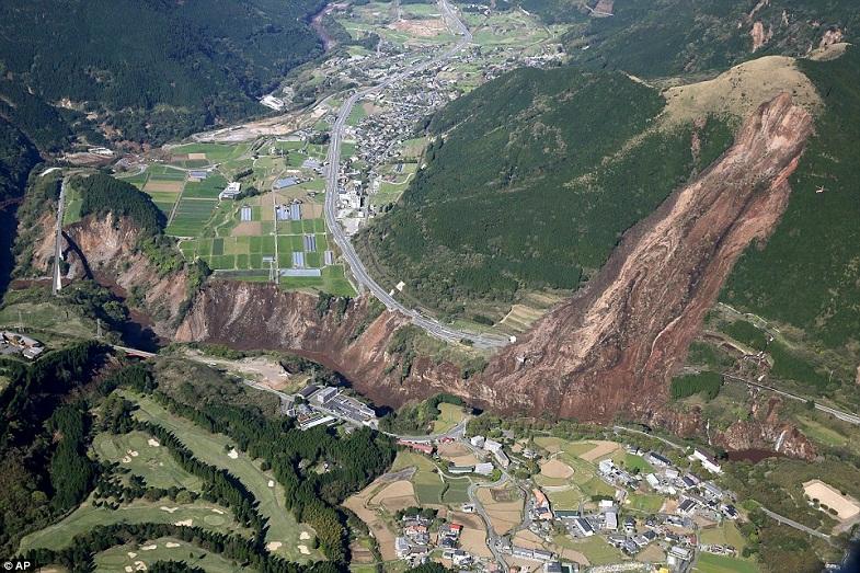 Япония трещины