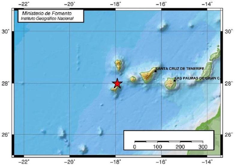 землетрясение на Иерро