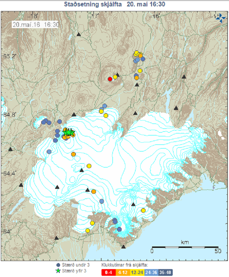 Баурдарбунга землетрясения 20 мая
