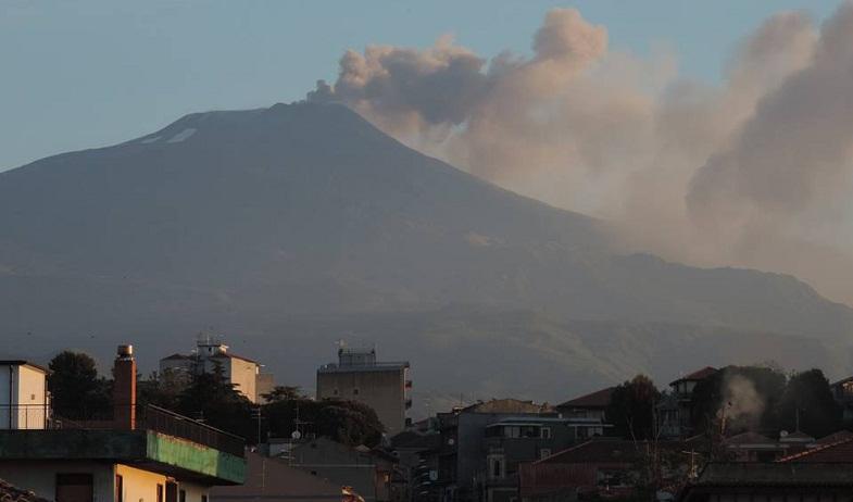 Этна 18 мая