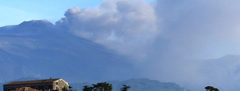 Этна извержение 18