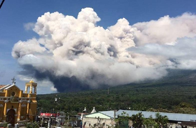 Фуэго вулкан 18 мая