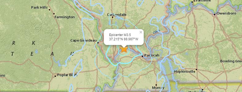 Нью-Мадрид землетрясение