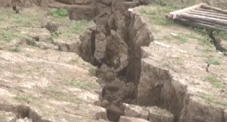 Сан-Исидро трещина