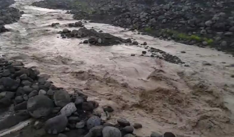 Селевые потоки Сантьягуито