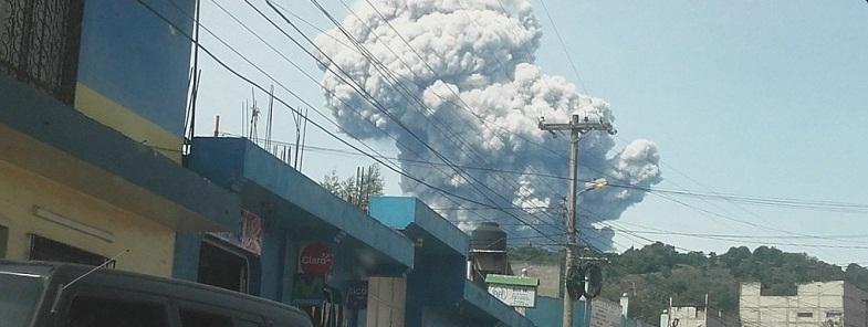 Сантьягуито вулкан 19 мая