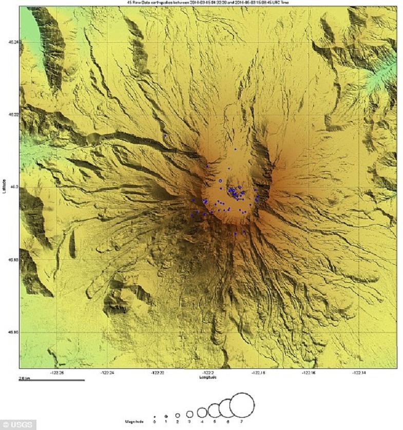 Сент-Хеленс землетрясения
