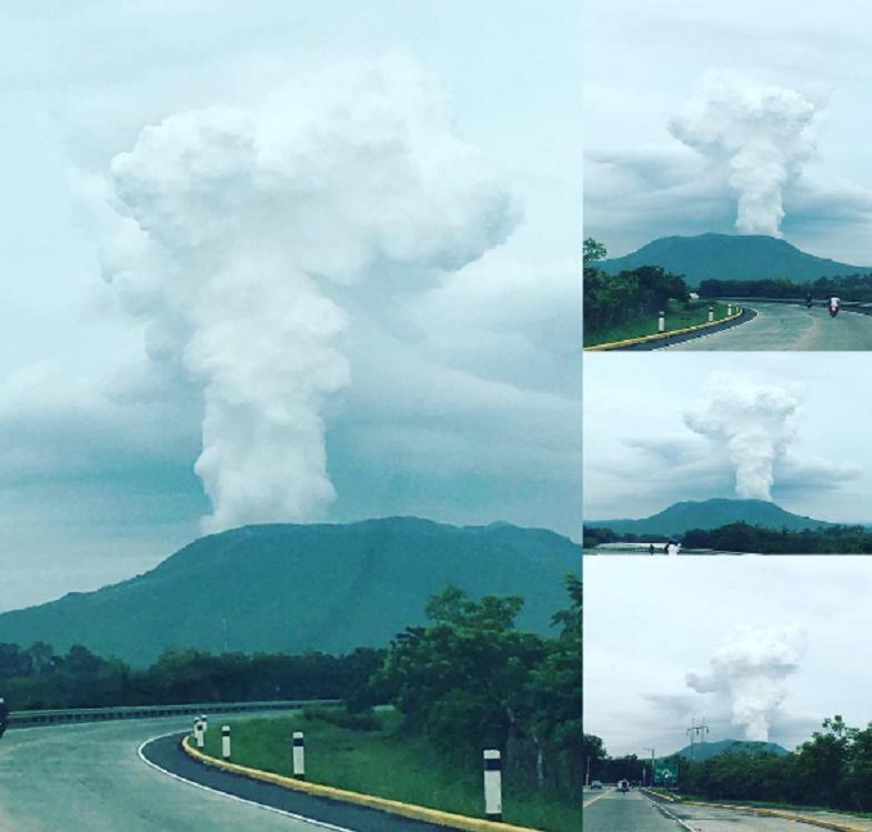Масая вулкан 1 июня