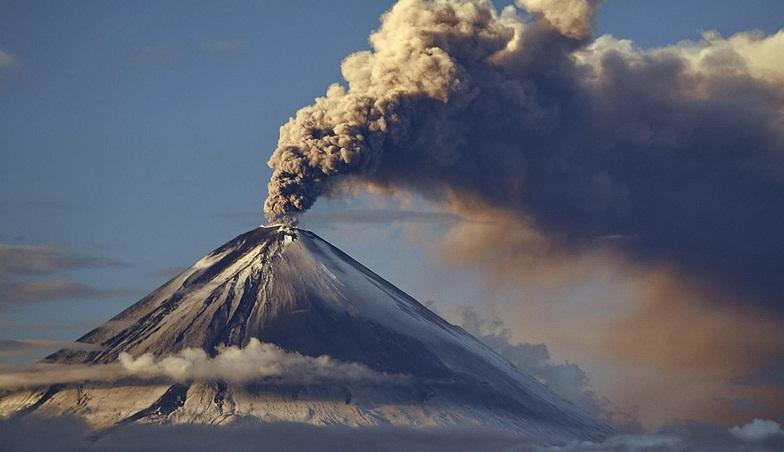Ключевской извержение