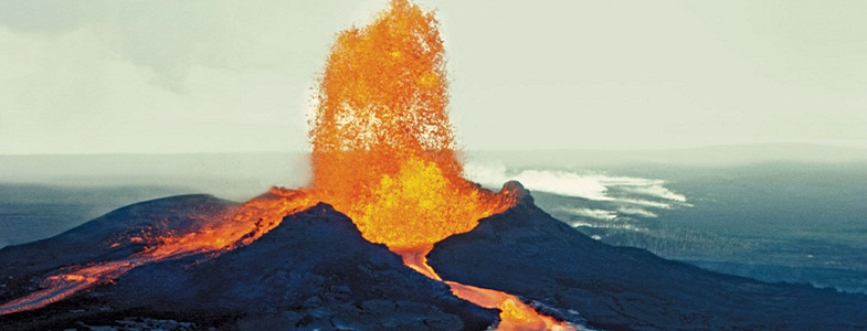 Мауна-Лоа извержение
