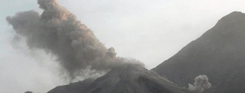 Сантьягуито вулкан 19 июня