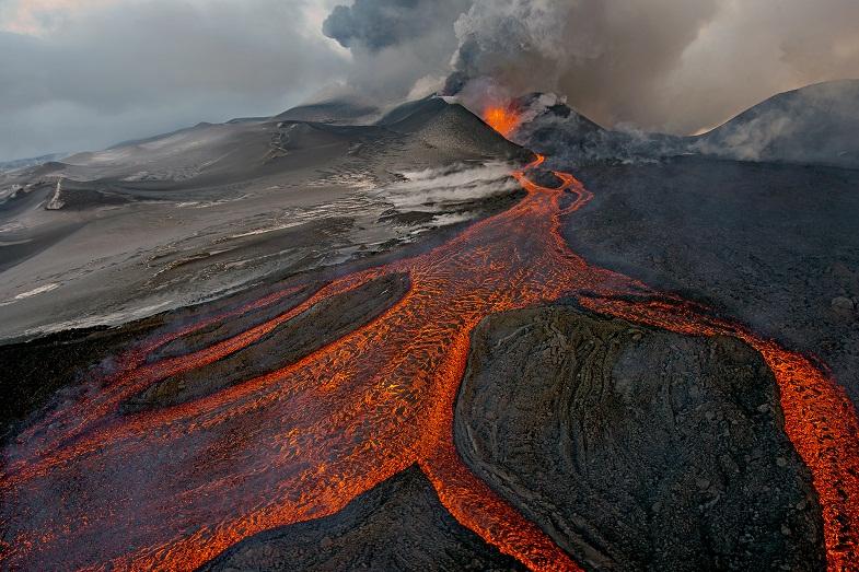 Извержение Плоского Толбачика в 2012 году