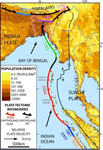Бангладеш землетрясение