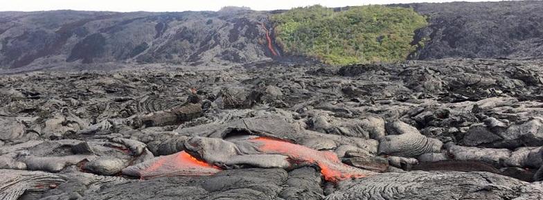 Гавайи лава