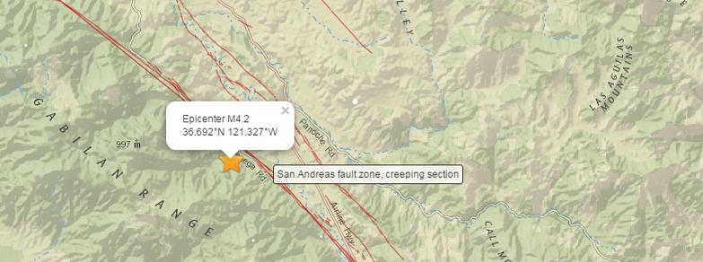 Сан-Андреас землетрясения