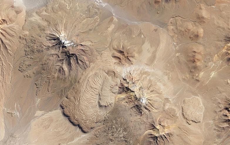 Исследуемые вулканы в Альтиплано-Пуна