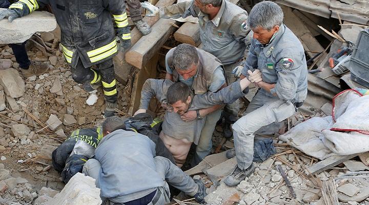 Аматриче спасатели