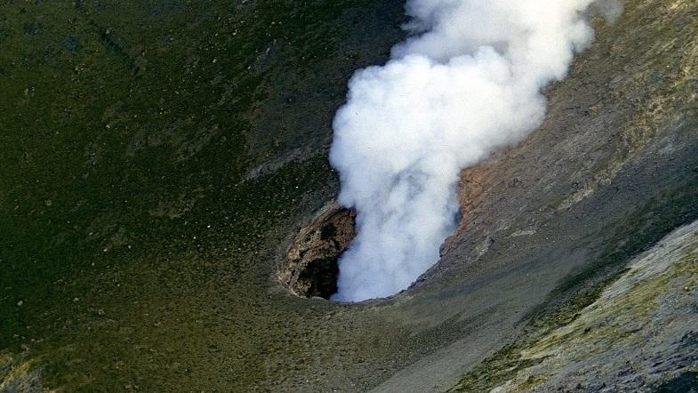 Этна новый кратер