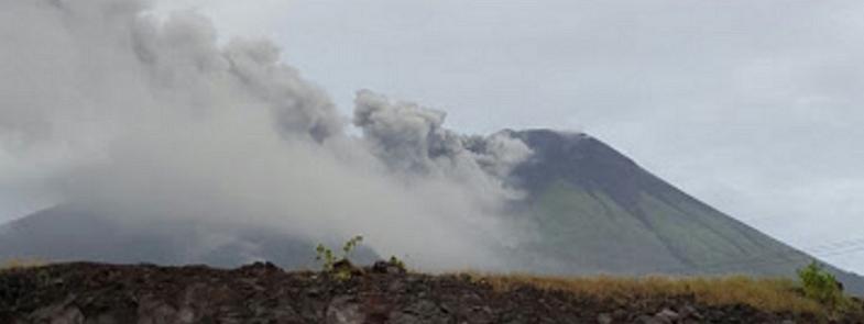 Гамалама извержение