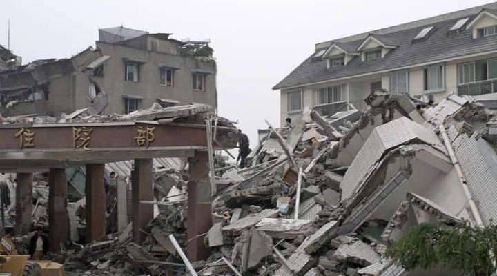 Индия землетрясение