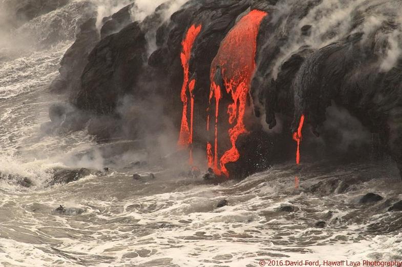 Лавовые потоки Килауэа